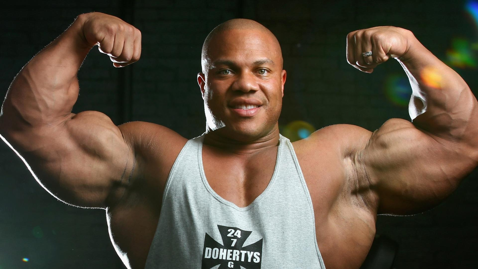 hd hintergrundbilder champion phil heath bodybuilder sportler 1920x1080