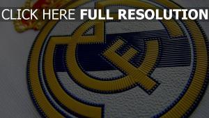real madrid spanien fußballverein logo