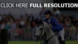 wettspiel sport reiter pferd