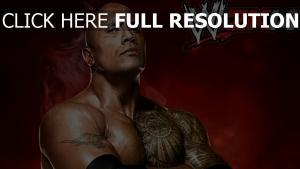 world wrestling entertainment ringen wwe the rock