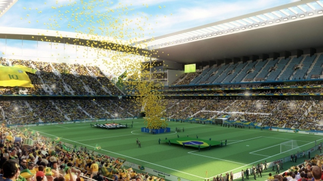 hd hintergrundbilder sao paulo fußball brasilien stadion