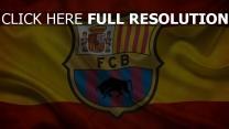 barca spanien fußball flagge fc barcelona