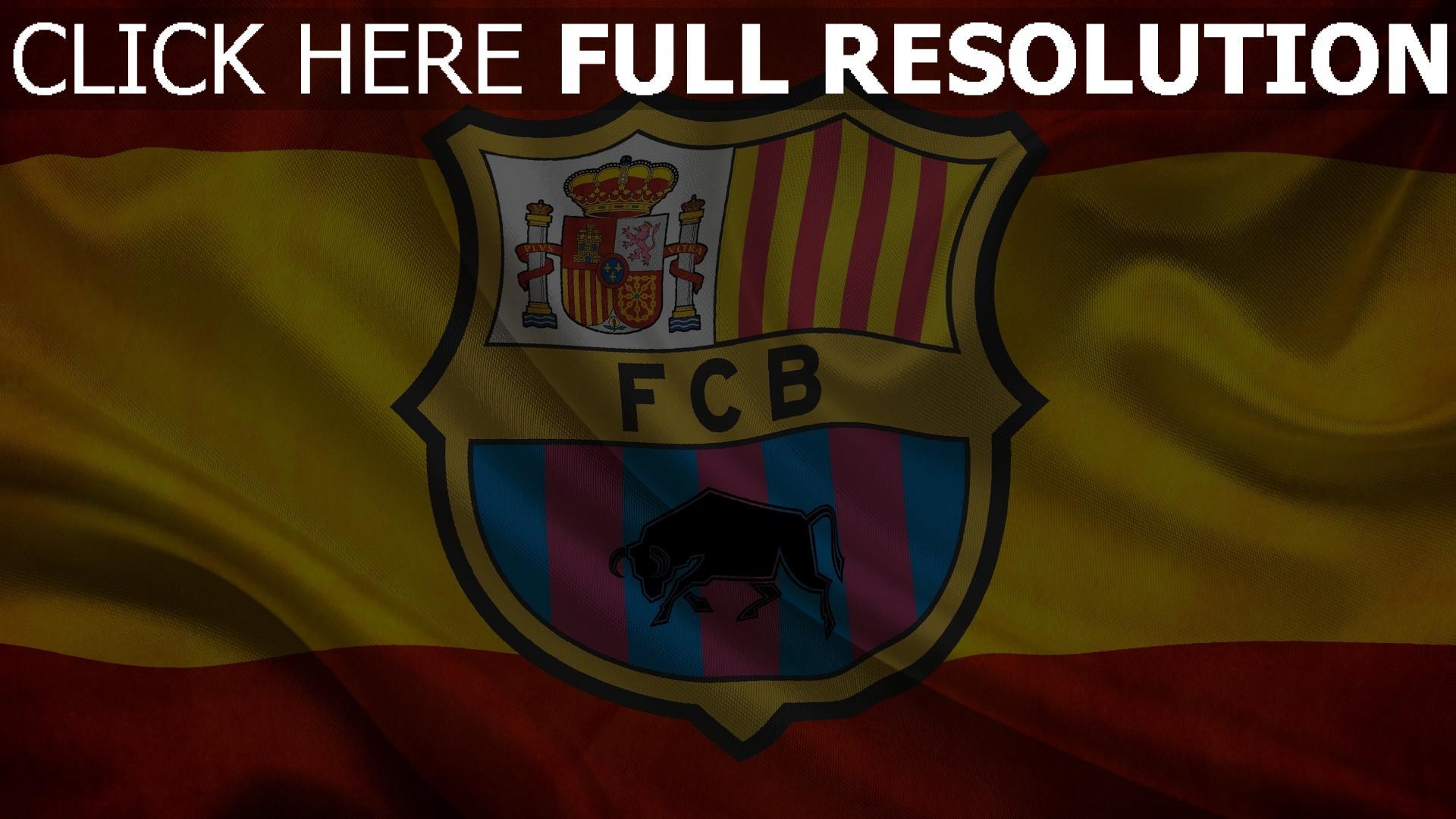 hd hintergrundbilder barca spanien fußball flagge fc barcelona 1920x1080