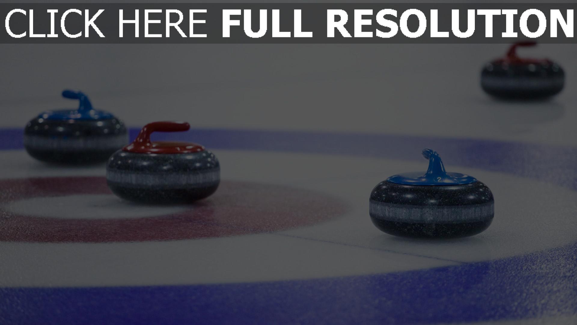 hd hintergrundbilder olympischen winterspiele sport curling 1920x1080
