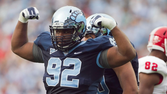 hd hintergrundbilder all-american sylvester williams amerikanischer fußball north carolina