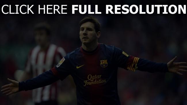hd hintergrundbilder barcelona fußball messi sport