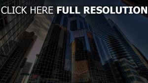 chicago hochhäuser häuser usa großstadt