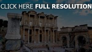 ruinen struktur türkei
