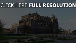 theater baugebiet dresden deutschland
