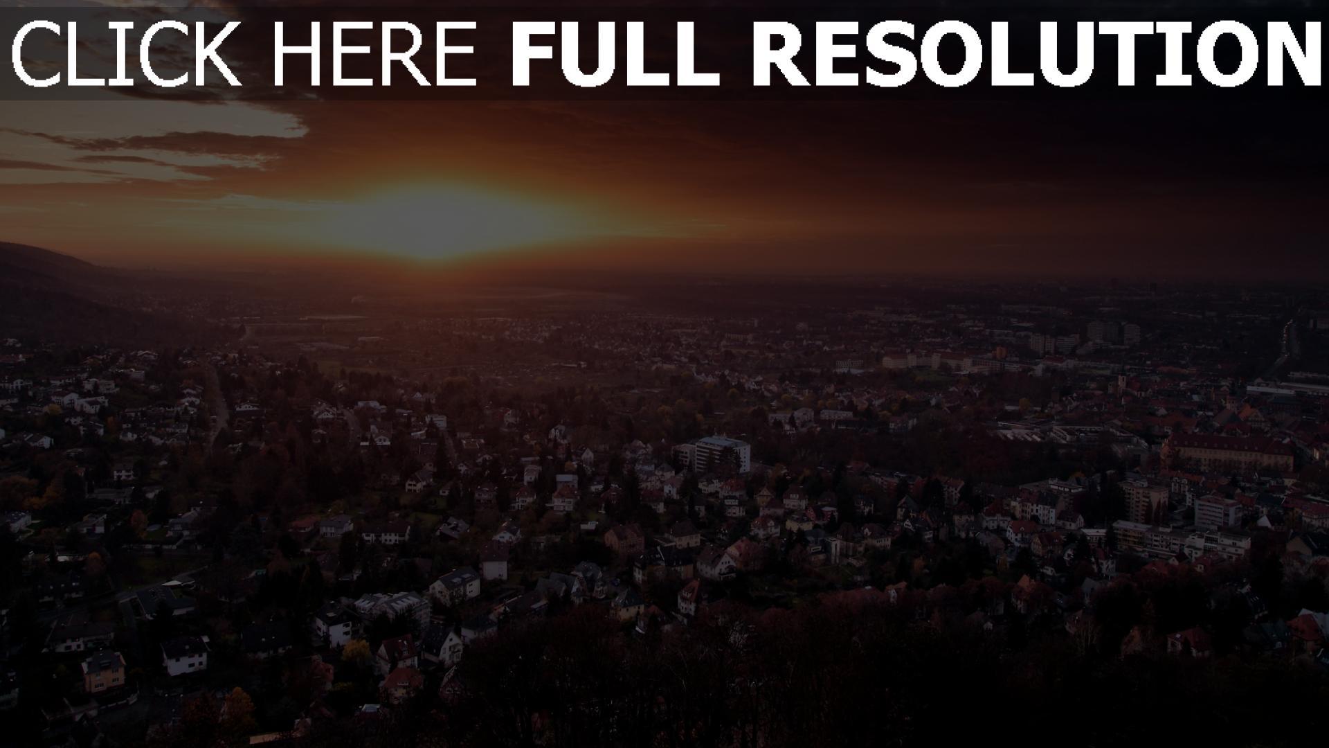 Herunterladen 1920x1080 Full Hd Hintergrundbilder Stadt
