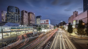 tokyo stadt großstadt nacht japan