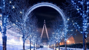 london eye nacht winter garland