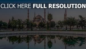 palast blaue moschee türkei istanbul