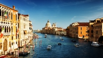 venedig kanal gebäude italien