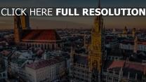 münchen stadt deutschland bayern