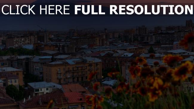 hd hintergrundbilder haus stadt yerevan armenien