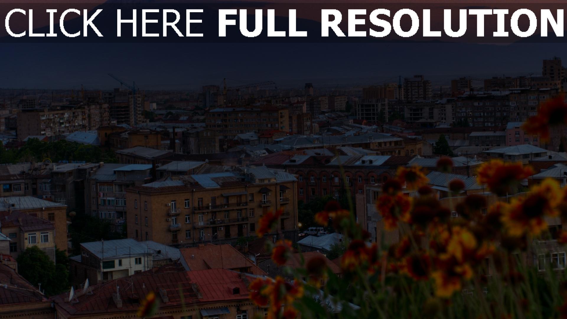 hd hintergrundbilder haus stadt yerevan armenien 1920x1080