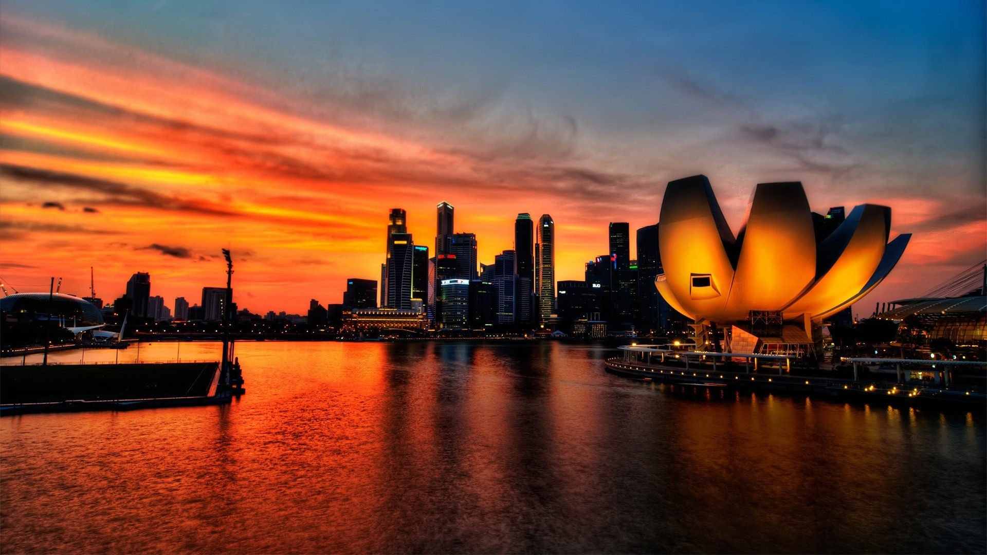 city sunset wallpaper 7106 - photo #49