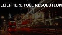 stadt nacht lichter bus london