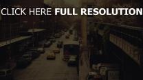 stadt straße autos verkehr new york