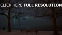 damm brücke winter schnee san francisco
