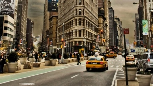 stadt autos taxis new york