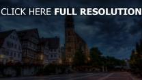 deutschland kirche gebäude hdr zuhause bereich boeblingen blumen