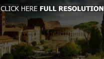 rom konstantinsbogen menschen italien colosseum