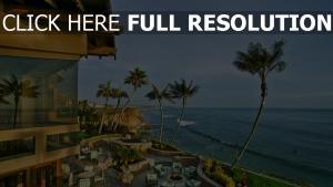 kalifornien meer stadt palmen san diego usa