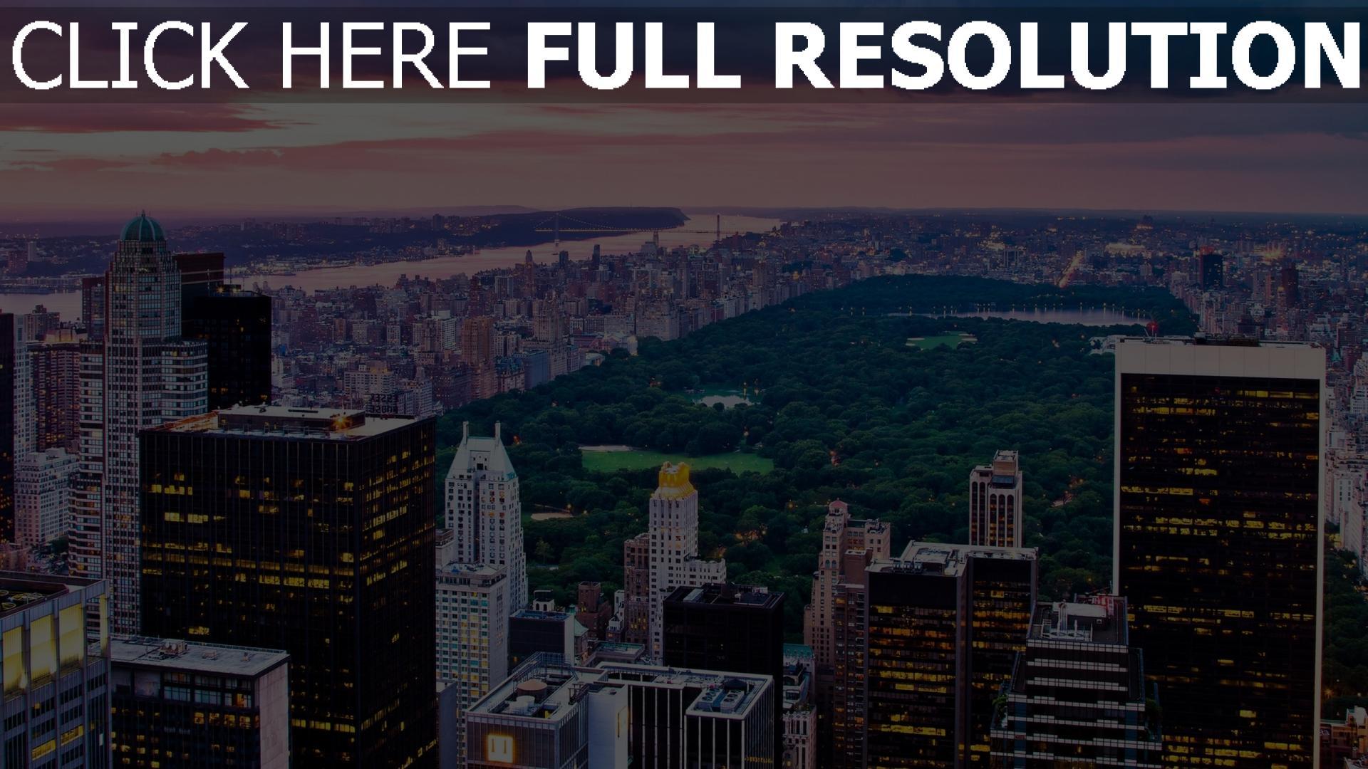 hd hintergrundbilder stadt blick von oben geb ude himmel nacht new york desktop hintergrund. Black Bedroom Furniture Sets. Home Design Ideas