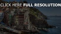 italien cliff hdr ufer riomaggiore