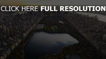 panorama new york manhattan zentralpark stadt