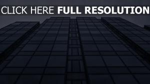 gebäude blick von unten glas perspektive