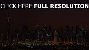 vereinigte arabische emirate zuhause hoch nacht dubai