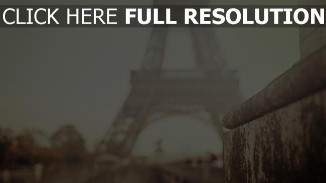 hd hintergrundbilder paris verwischen bokeh fokus eiffelturm stadt