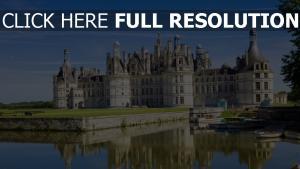 frankreich chateau de chambord