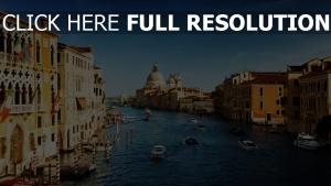 häuser himmel fluss italien