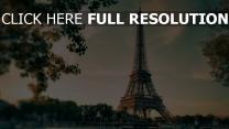 frankreich schön stadtbild eiffelturm paris
