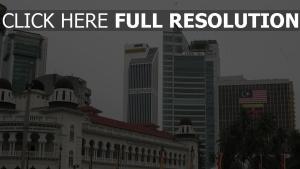 kuala lumpur bereich palast stadt malaysia