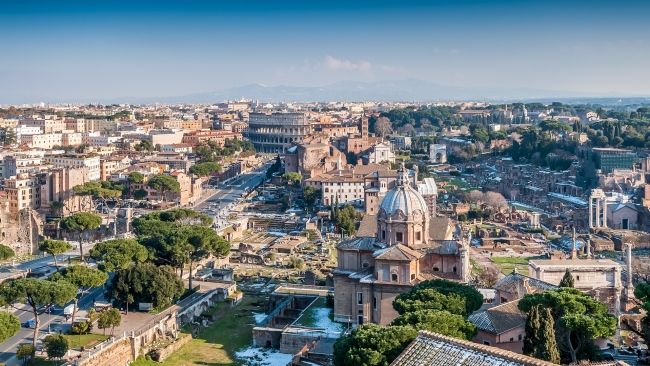 hd hintergrundbilder coliseum italien kapitol rom