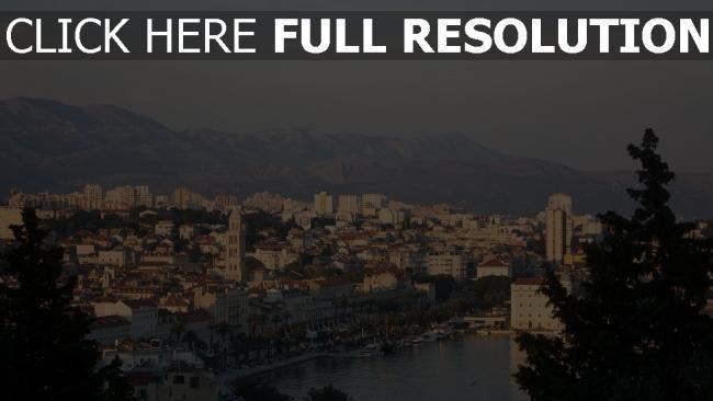 hd hintergrundbilder kroatien dalmatien adria mittelmeer europa