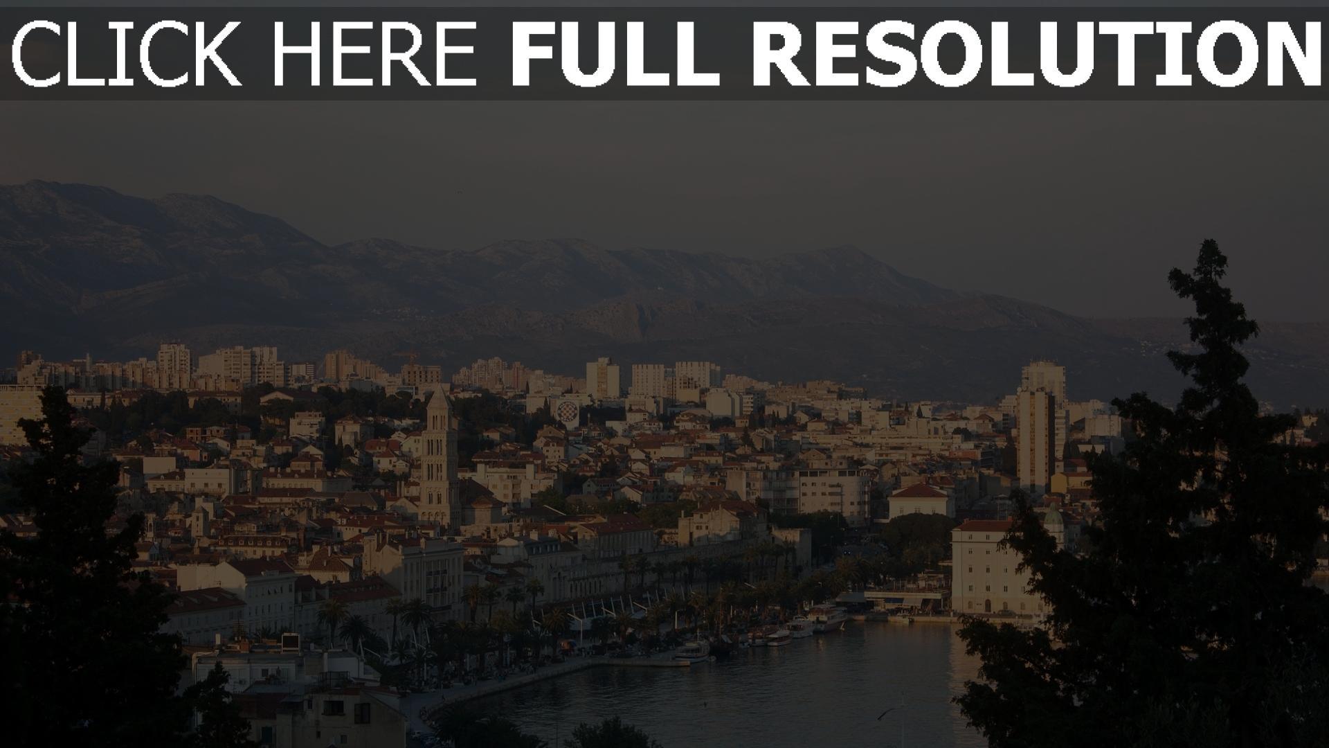 hd hintergrundbilder kroatien dalmatien adria mittelmeer europa 1920x1080