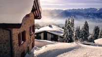 berge landschaft winter schnee