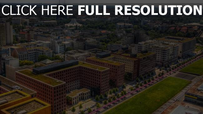 hd hintergrundbilder metropole gebäude berlin hdr deutschland