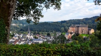 architektur gebäude deutschland bäume malberg