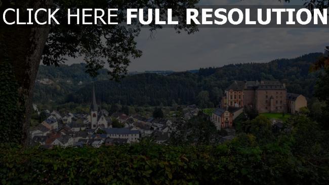 hd hintergrundbilder architektur gebäude deutschland bäume malberg