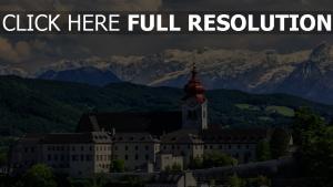 abtei berglandschaft kloster berge