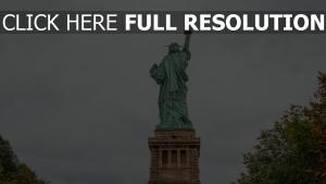 skulptur statue der freiheit new york