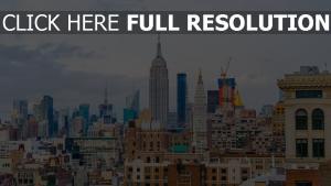 wolkenkratzer gebäude usa new york