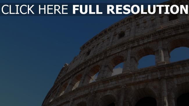 hd hintergrundbilder kolosseum architektur italien rom